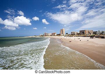 hobie, praia, porto, Elizabeth