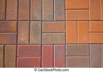 Pavers - Brick garden pavers