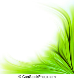 Green grass border background - Beautiful fresh green grass...