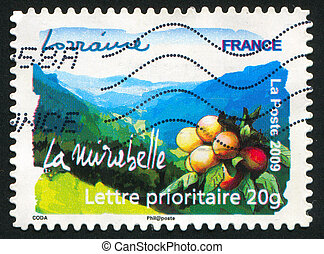 Lorraine - FRANCE - CIRCA 2009: stamp printed by France,...