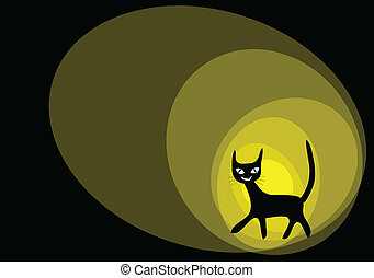 cat cartoons illustration background.