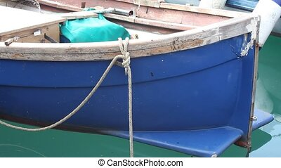 Bow Of A Fishing Boat
