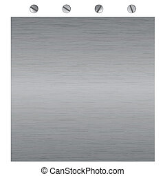 vector metal textures with screws - metal surface texture,...