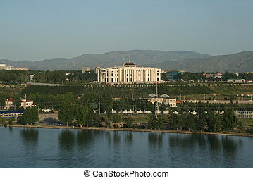 Presidential Palace in Dushanbe - Presidential palace in...