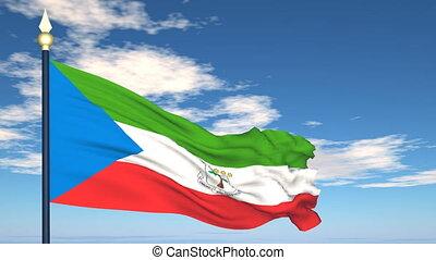 Flag Of Guinea Ecuatorial