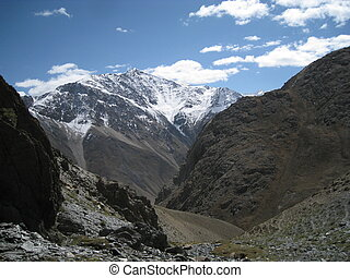 Landscape view of the Afghan Pamir