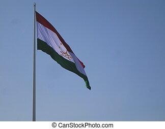 Tajikistans National Flag - Tajikistans national flag
