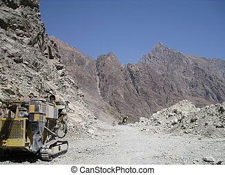 Pamir Highway reconstruction - Road reconstruction on the...