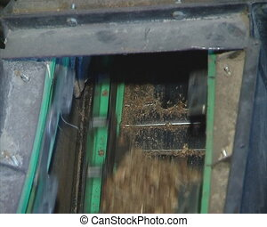 escalator supply sawdust