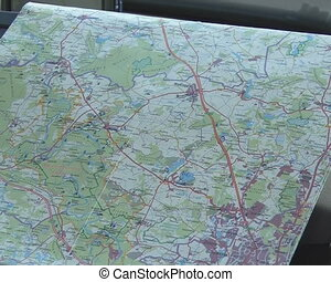 Maps car navigation