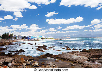 mossel bay beach, south africa