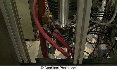 The compressor in the laboratory