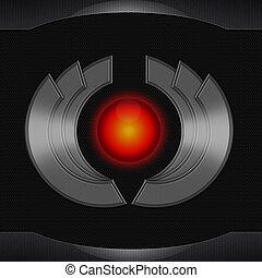 sci fi metal symbol