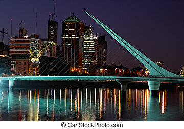 Bridge of the woman, Buenos Aires - Bridge of the Woman...