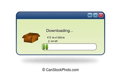 Downloading 3200 kb in a box