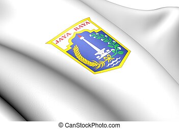 Jakarta Coat of Arms, Indonesia.