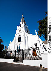 old church building in Stellenbosch, South Africa