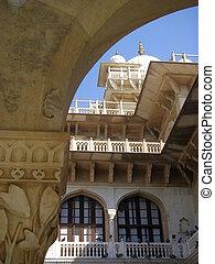 Albert Museum in Jaipur, India - Indo-Saracenic architecture...