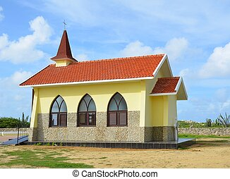 Alto Vista Chapel, built in 1952 on the site of the...