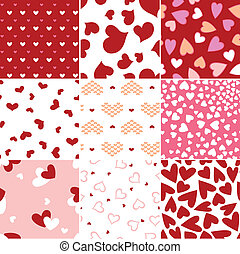 heart love repeated pattern