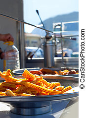 churros fried flour fritters spanish dognuts - churros fried...
