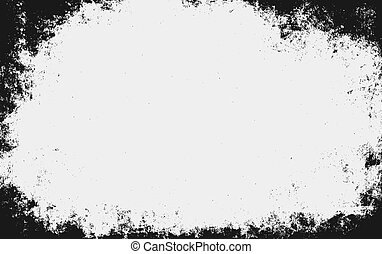 Vector illustration of grunge old paper background