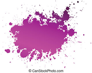 Vector illustration of colour splash background