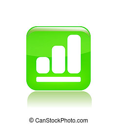 Vector illustration of single isolated level icon