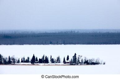 Dorie Lake Saskatchewan Canada