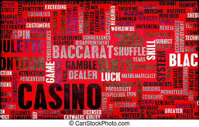 Casino Gaming with Popular Games as Concept