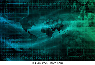 Technology Visual Concept of a Corporate Business