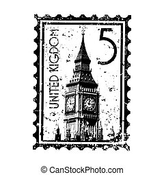 Vector illustration of single isolated UK icon