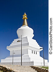 The Enlightenment Stupa in Benalmadena, Spain -...