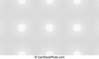 white pattern circle