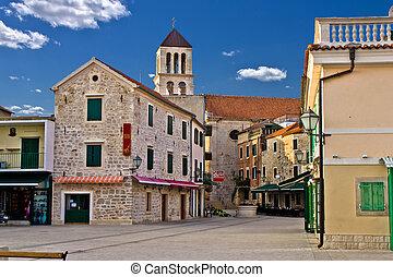 Adriatic Town of Vodice, Croatia - Adriatic Town of Vodice...