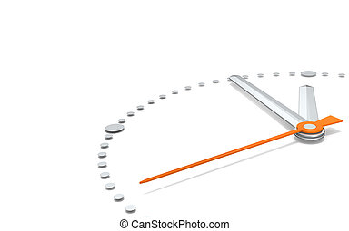 Five to Twelve, Orange Edition. - Perspective view of a...