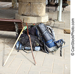 Backpacks, Way of St James - Spain