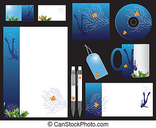 Corporate style diving - Corporate identity for businesses...