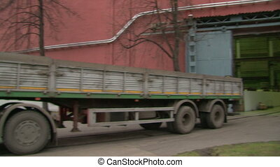 Automatic gates and truck
