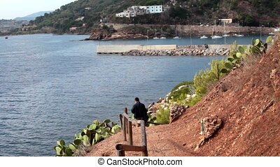 View Above The Sea, Porto Azzurro, - Nice view above the sea...