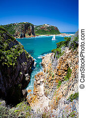 landscape of Knysna, South Africa - landscape of Knysna,...