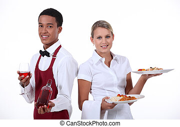 A couple of waiter.