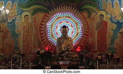 Altar Mangala Vihara Buddhist - Altar inside Mangala Vihara...