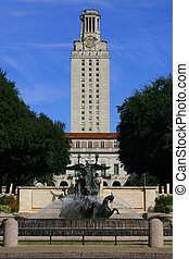 UT Tower - The famous tower at the University of Texas, site...