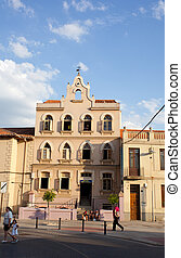 pilgrims' hospice in Astorga - The pilgrims' hospice in...