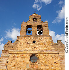 Belltower of a cathedral in Astorga