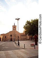 San Bartolomeo church, Astorga - San Bartolomeo church in...