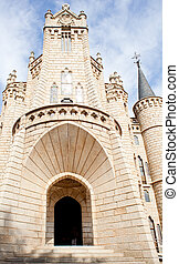 The Episcopal Palace in Astorga - The Episcopal Palace,...