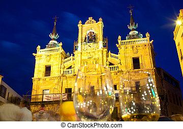 Casas consistoriales, Astorga - The Casas consistoriales in...