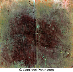 Vintage stained background